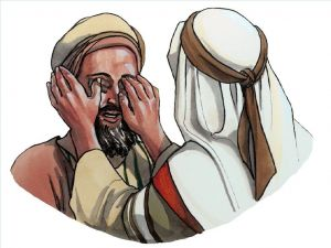Jesus Heals the Blind Man Coloring Pages - Free Visuals when Jesus Heals A Blind Man the Pharisees Plain that It Was Done On the Sabbath John 9 1 17 1k