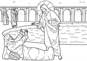 Jesus Miracles Coloring Pages - Jesus Brings Lazarus Back to Life Coloring Page Bible – Page 2 – Notes From the 2k