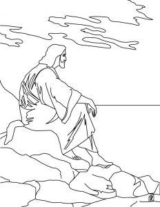 Jesus Miracles Coloring Pages - Color Page Jesus with 2717 Ethicstech org 8c