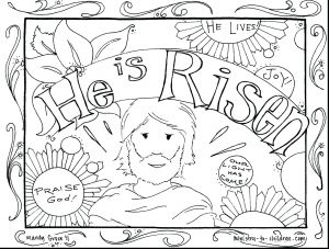 Jesus Miracles Coloring Pages - Best Religious Easter Coloring Sheets Printable Best Coloring 10n