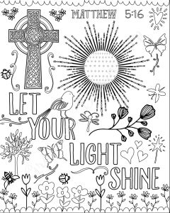 Jesus Miracles Coloring Pages - Bible Verse Coloring Pages Set Of 5 by Grapevinedesignshop Jesus Coloring Pages Coloring Book 8k