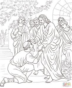 Jesus Miracles Coloring Pages - Jesus Miracles Coloring Pages Best Of Brilliant Free Png 1307x1600 Jesus First Miracle Coloring Pages 6j