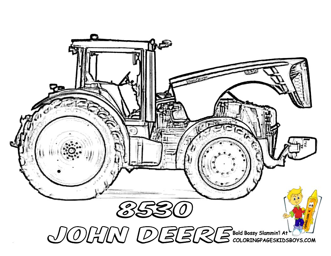 28 John Deere Coloring Pages Collection Coloring Sheets