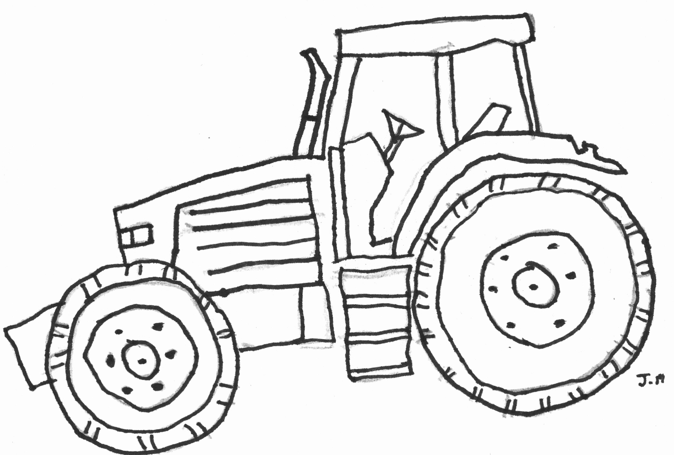 28 John Deere Coloring Pages Collection - Coloring Sheets