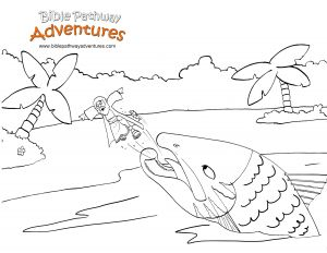 Jonah and the Whale Coloring Pages for Preschoolers - Jonah and the Whale Coloring Pages for Preschoolers Best Jonah and the Whale Coloring Pages 17q