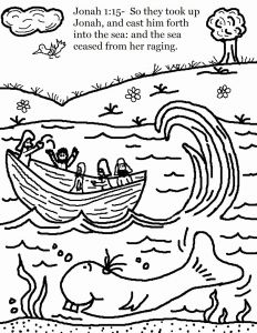 Jonah and the Whale Coloring Pages for Preschoolers - Jonah and the Whale Coloring Page Inspirational Jonah Coloring Pages Jonah and the Whale Coloring Page 19i