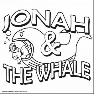 Jonah and the Whale Coloring Pages for Preschoolers - Whale Shark Clipart Jonah Whale 18k