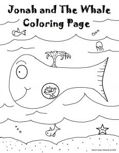 Jonah and the Whale Coloring Pages for Preschoolers - Jonah and the Whale Coloring Page Unique Jonah and the Whale Coloring Pages for Preschoolers Awesome 8f
