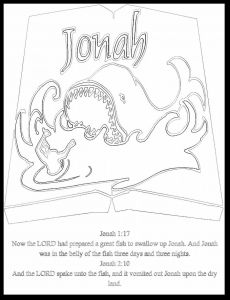 Jonah and the Whale Coloring Pages for Preschoolers - Jonah Bible Coloring Pages 14 Luxury Jonah and the Whale Coloring Pages for Preschoolers 10n