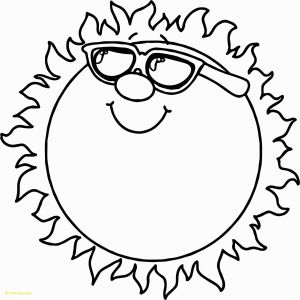 Kids Coloring Pages Online - Fun In the Sun Coloring Pages Drawing for Kids New Printable Sun Colouring 31 for Preschoolers 14q
