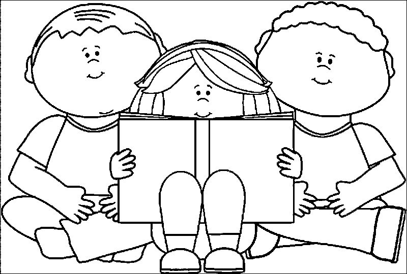 Kids We Coloring Page