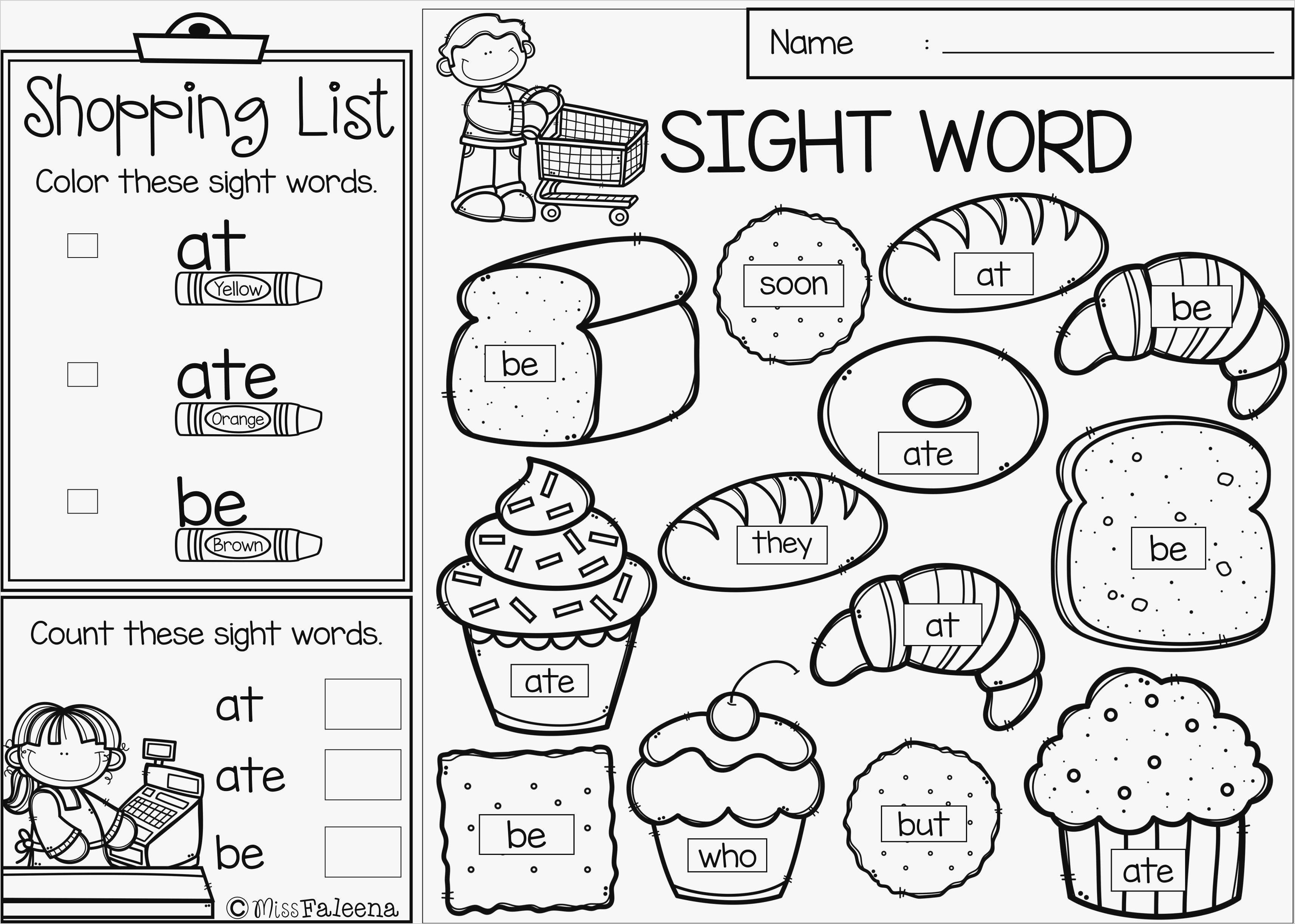 kindergarten sight words coloring pages Download-Sight Word Coloring Pages Kindergarten Fresh Sight Word Coloring 1 7-c