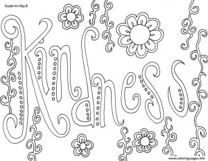Kindness Coloring Pages Printable - Showing Kindness Coloring Pages Coloring Book Detail 2d