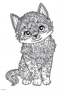 Kittens Coloring Pages - Kitten Coloring Pages for Kids Cat and Kitten Coloring Pages Best Od Dog Coloring Pages Free 7k
