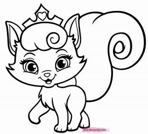 Kittens Coloring Pages - Princess to Draw Printable Puppy and Kitten Coloring Pages 504 Free Printable Inside 5o