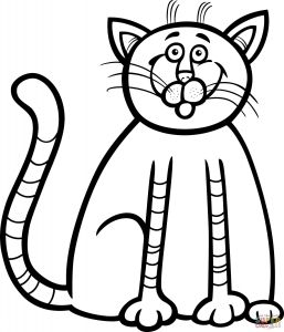 Kitty Cat Coloring Pages Printable - Cat and Kitten Coloring Pages 32 Beautiful Kitty Cat Coloring Pages Printable Cloud9vegas 6t