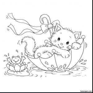 Kitty Cat Coloring Pages Printable - Kitty Cat Coloring Pages Awesome Kitty Cat Coloring Pages Printable Awesome Coloring Page Doc 7a