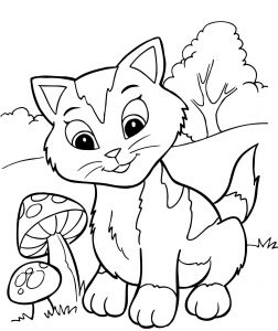 Kitty Cat Coloring Pages Printable - Coloring Pages Kittens Printable Inspirational Kitty Cat Coloring Pages Printable Elegant Cute Kitten Coloring Page 10s
