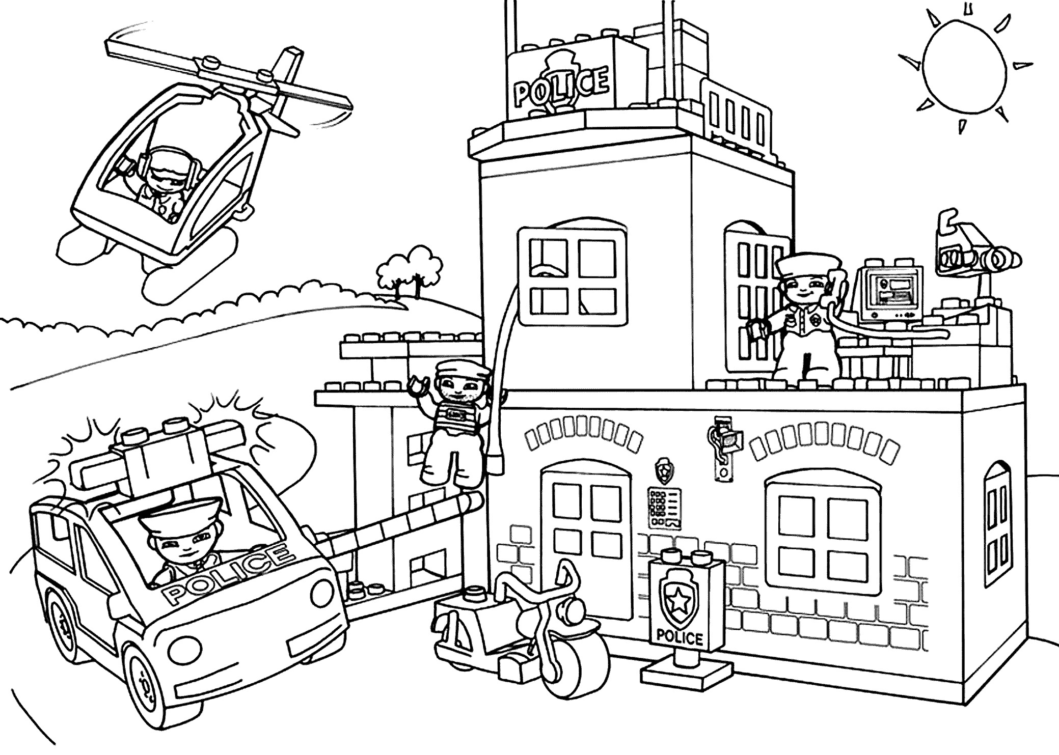 lego city coloring pages Download-Lego Police Coloring Pages Printable Best Lego City Undercover Ausmalbilder 8-s