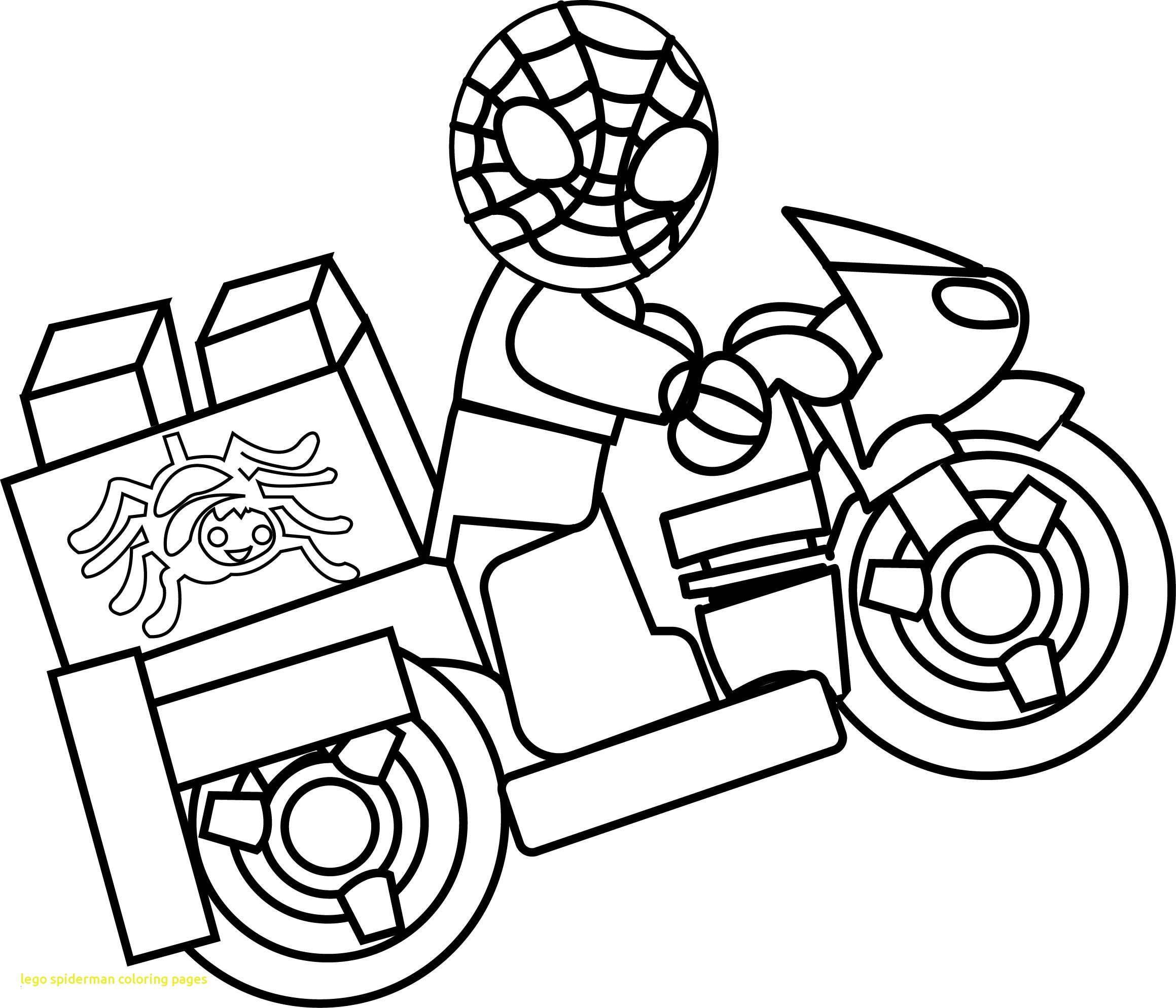 640 Colouring Pages Lego Spiderman Download Free Images