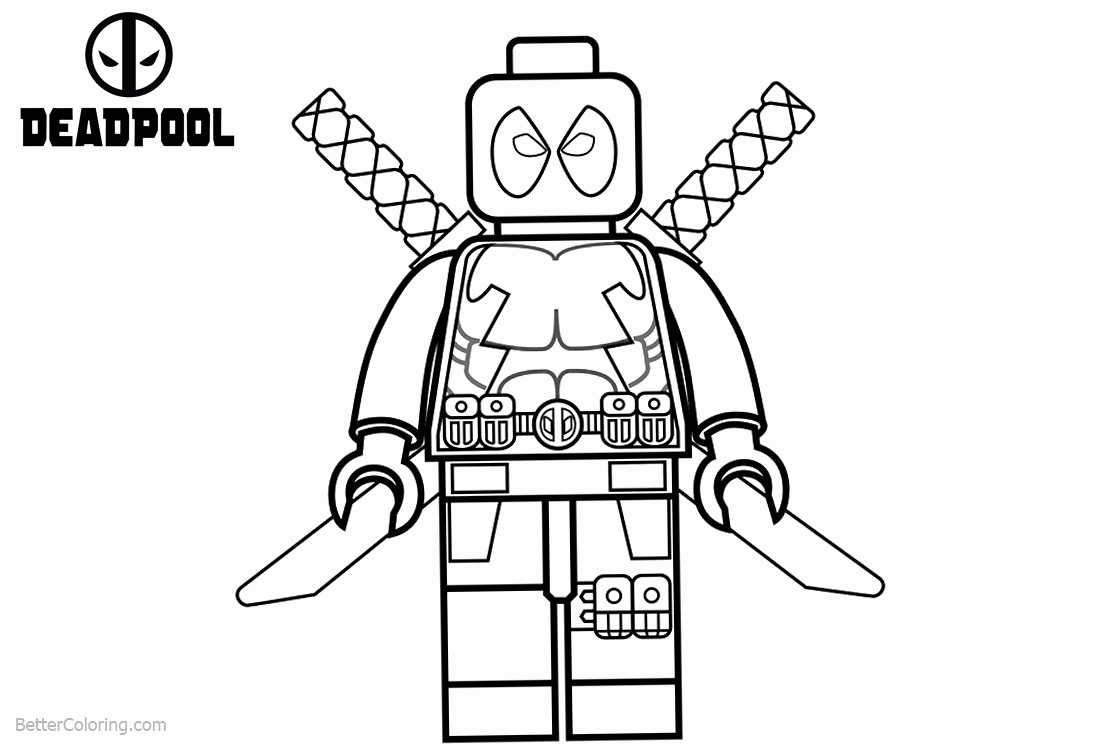 It is a picture of Wild Lego Spiderman Coloring Page
