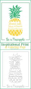 Lemonade Stand Coloring Pages - Be A Pineapple Inspirational Print and Coloring Page 2g