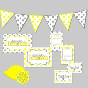 Lemonade Stand Coloring Pages - Lemonade Stand Kit Free Printable Digital Download From Maaddhappy Es with Banner Lemonade 14g