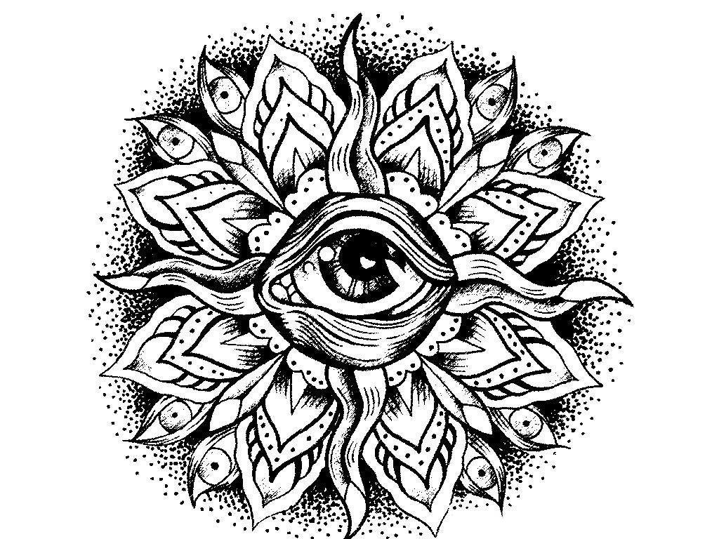 23 Mandala Coloring Pages Advanced Level Download
