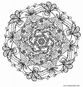 Mandala Coloring Pages Online - Mandala Coloring Book Line Fresh Center Yourself with Mandalas Coloring Pages 16c