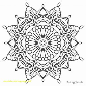 Mandala Coloring Pages Pdf - Mandala Coloring Pages Pdf Amazing Mandala Coloring Pages with Printable Intricate for Style 10c