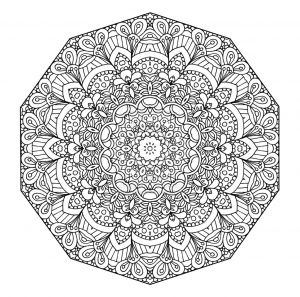 Mandala Coloring Pages Pdf - Advanced Mandala Coloring Pages 14 with Page 19a