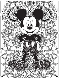 Minnie Mouse Coloring Book Pages - Celebrate National Coloring Book Day with Disney Style 2i