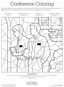 Missionary Coloring Pages - Lds Coloring Activity Pages Awesome Missionaries 12l