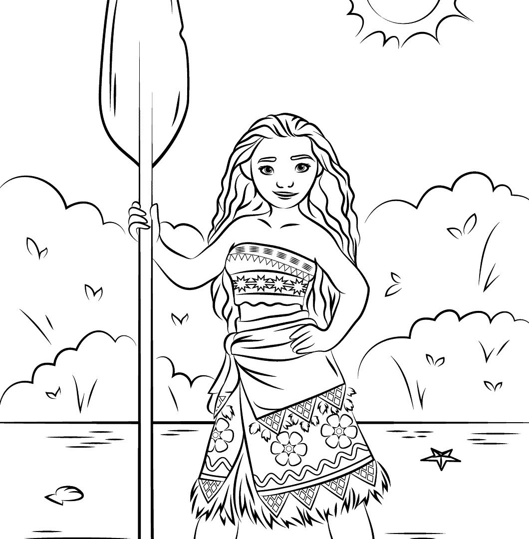 24 Moana Coloring Pages Disney Gallery Coloring Sheets