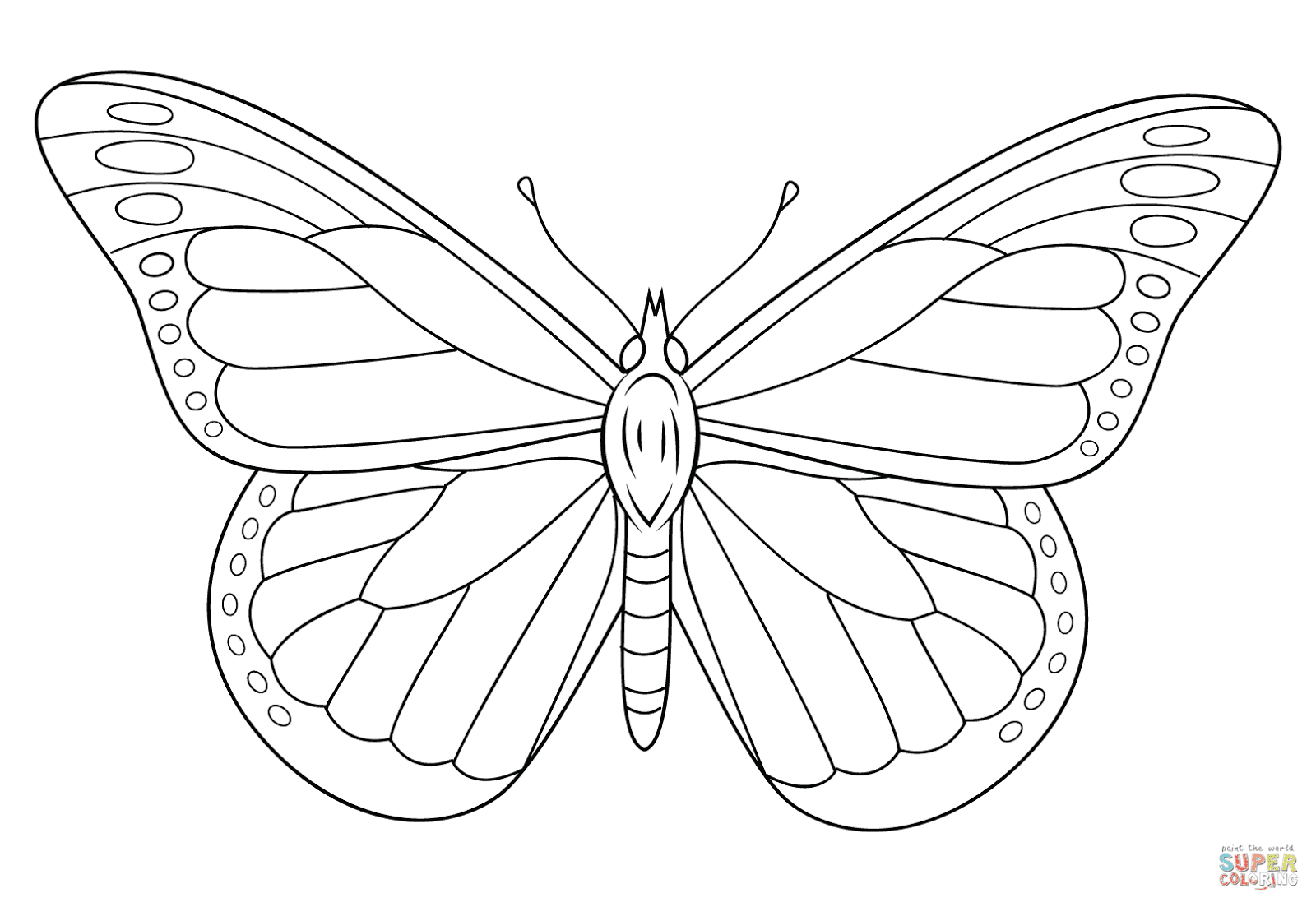 21 Monarch butterfly Coloring Pages Collection - Coloring Sheets