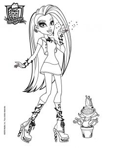 Monster High Coloring Pages - Monster High Ausmalbilder Lagoona Blue Frisch Coloring Pages Monster High 8t