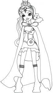 Monster High Coloring Pages - Raven Queen Legacy Day Coloring Page 920—1600 16c