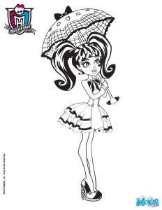 Monster High Coloring Pages - Monster High Coloring Pages 72 Line toy Dolls Printables for Girls Genial Draculaura Ausmalbilder 13g