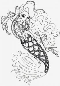Monster High Coloring Pages that You Can Print - Monster High Coloring Pages Printable High Freaky Fouchon Coloring Pages to 17e