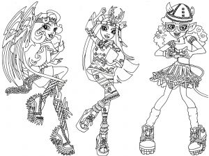 Monster High Coloring Pages to Print for Free - Baby Monster High Coloring Pages Monster High Color Pages Refrence Monster High Coloring Pages Pdf 20e