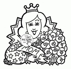 Mother Day Coloring Pages to Print - Mothers Day Coloring Pages Free attractive Free Mothers Day Coloring Sheets Verikira 10t