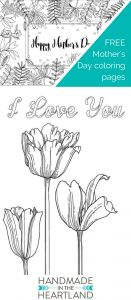 Mothers Day Coloring Book Pages - 3 Different Free Coloring Pages to and Print Out for Mother S Day Pretty Floral Coloring Pages for Kids or Adults 17h