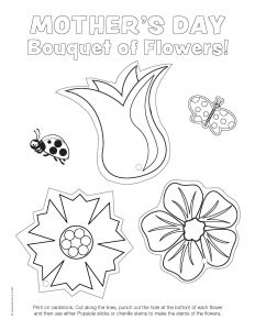 Mothers Day Coloring Pages for toddlers - Ready to Color Mother S Day Flowers Printable 1o