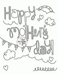 Mothers Day Free Coloring Pages - Mothers Day Coloring Pages for D Glum Me Best Free Mother S Faba Throughout 1p