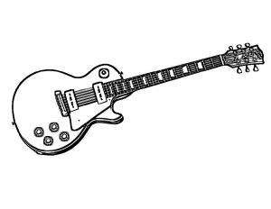 Musical Instruments Coloring Pages - who Else Wants Electric Guitar Coloring Pages Print Out these Electric Bass Rock Country Guitar Instruments and Guitar Gear too 4i