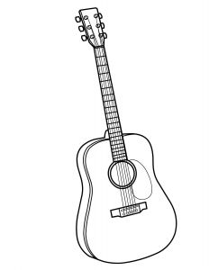 Musical Instruments Coloring Pages - Musical Instruments Coloring Pages Free Musical Instruments Coloring Pagesmore Pins Like This E at 10h