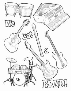 "Musical Instruments Coloring Pages - Music Note Color Page Luxury ŽÅ""Ž¿…Æ'Ž¹ŽºÅ'' Coloring Pages 5m"
