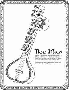 Musical Instruments Coloring Pages - Fun Music Coloring Pages Best Musical Instruments Coloring Pages Cool Coloring Pages 5e