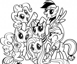 My Little Pony Coloring Pages to Print - Ausmalbilder Mario Schön Free Printable My Little Pony Coloring Pages for Kids 19c