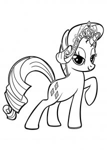 My Little Pony Coloring Pages to Print - My Little Pony Coloring Pages Rarity 18s